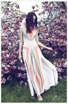 REISS occasion spring summer 2012 color blocks FashionDailyMag loves