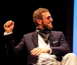 STEFANO PILATO smiles at FIAF photo junenoire mitchell FashionDailyMag