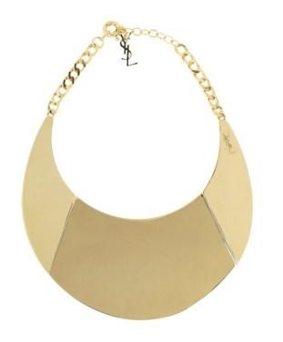 YSL jewelry COLLAR at Net A Porter fdm ode to stefano pilati