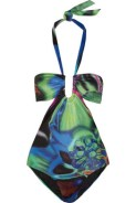 LA-PERLA-Warhols-Flower-printed-swimsuit-green-