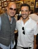 John Varvatos Event 2012 John Varvatos and George Kotsiopoulos FashionDailyMag Selects