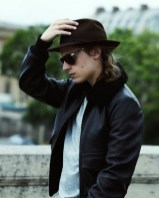 PIERRE SARKOZY in lock&co hatters and ysl jacket at MrPorter on FashionDailyMag