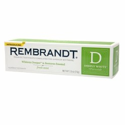 Rembrandt Deeply White + Peroxide Fresh Mint Toothpaste