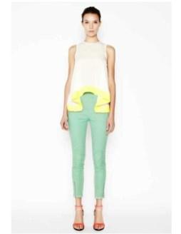 camilla and marc resort 2013 FashionDailyMag yellow waist