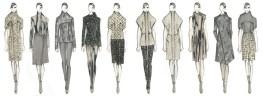 Academy of Art University Spring 2013 Mercedes-Benz Fashion Week NY Jie Jessie Liu fashiondailymag selects
