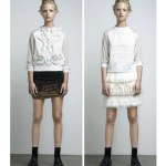 GenArt Fresh Faces in Fashion A_W 2012_13 Anne Sofie Madsen Crystal Blouse and White Mask Blouse+Snow Skirt fashiondailymag selects