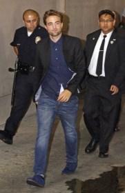 Robert Pattinson wearing American Eagle with KENZO