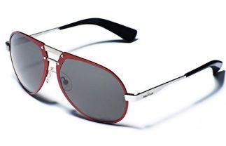 STONE ISLAND eyewear launch red sunnies FashionDailyMag