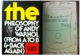 philosophy of andy warhol Exhibition A on FashionDailyMag
