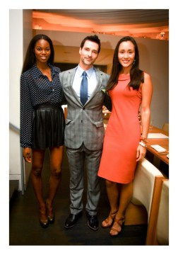 AsiasNTM+ NYFW Kickoff Event Eugena Washington Cycle 7 Todd Anthony Tyler and April Wilkner fashiondailymag