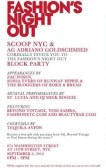 FNO 2012 Scoop NYC + AG Adriano Goldschmied
