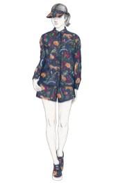 MAISON KITSUNE x pernod ABSINTHE fashion collab womens FashionDailyMag
