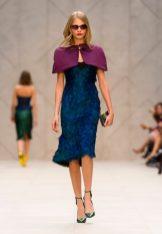 cara delevingne at BURBERRY PRORSUM ss13 fashiondailymag