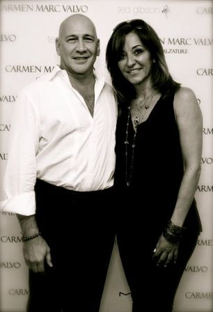 designer CARMEN MARC VALVO and HERA at NYFW on FashionDailyMag