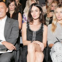 WHITNEY EVE spring 2013 NYFW highlights and front row celebs
