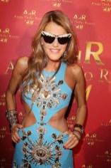 ANNA DELLO RUSSO in ADR celebrates pfw at HM on FashionDailyMag