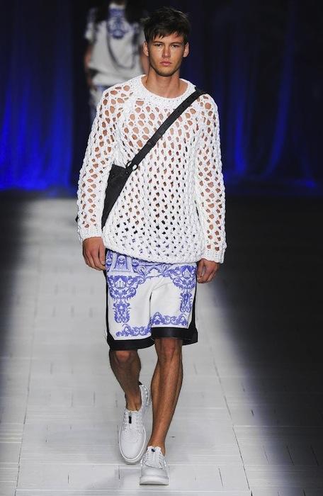 JUST CAVALLI spring 2013 MFW fashiondailymag sel men 1