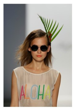 Mara Hoffman Spring Summer 2013 Aloha The Beauty Look fashiondailymag 2
