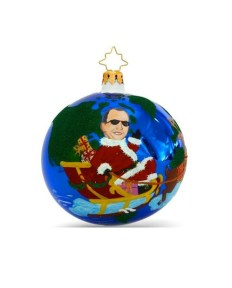 CELEBRITY ORNAMENTS Bloomingdale's Matt Lauer FashionDailyMag