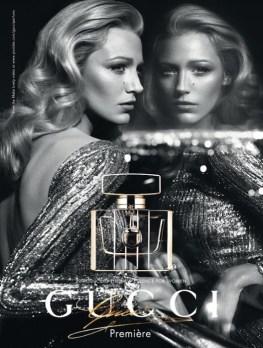 GUCCI PREMIER ad BLAKE LIVELY | FashionDailyMag