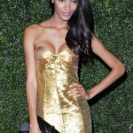 JOURDAN DUNN wearing burberry at 58th london evening standard | FashionDailyMag