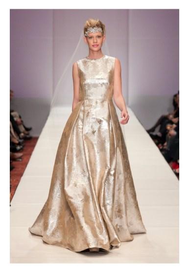Jerri Moore SS 2013 Fashion Houston 2012 fashiondailymag finale look