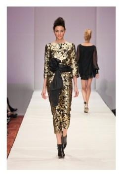 Jerri Moore SS 2013 Fashion Houston 2012 fashiondailymag look 5