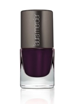 LAURA MERCIER nail lacquer noir glace | FashionDailyMag