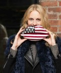 poppy delevingne | lulu guinness bag