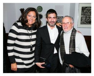 Fern Mallis, Marc Jacobs, and Stan Herman Fashion Icons with Fern Mallis-Marc Jacobs