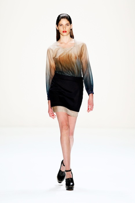 Hien Le Show - Mercedes-Benz Fashion Week Autumn/Winter 2013/14