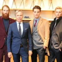 celebrating TOMMY tailored fall 2013 collection London
