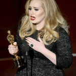 adele 85th annual academy awards show in burberry on fashiondailymag