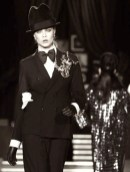 CARA DELEVINGNE Dsquared2 Fall 2013 FashionDailyMag
