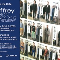 feel good: JEFFREY fashion cares Fundraiser