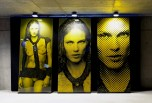 Karl Lagerfeld Fire Etchings Aymeline Valade Portrait fashiondailymag 2