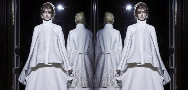 LINDSEY WIXSON at GARETH PUGH aw13 PFW FashionDailyMag feature