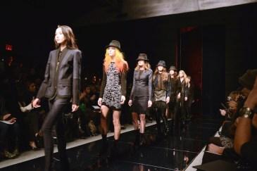 Nicole Miller Fall/Winter Fashion Show | FashionDailyMag