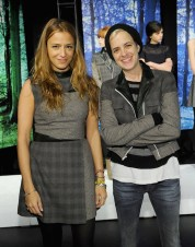 charlotte ronson and samantha ronson at CR fall 2013 FashionDailyMag