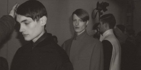 duckie brown backstage fall 2013 NYFW feature