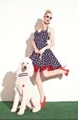BETSEY JOHNSON SPRING 2013 DRESSES dots FASHIONDAILYMAG