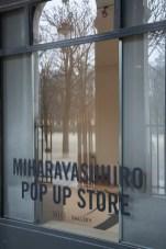 Mihara Yasuhiro pop up store 2 fashiondailymag