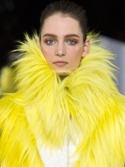 MAISON VIONNET AW13 pfw FashionDailyMag sel 50 yellow