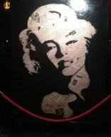 Marilyn Monroe Hollywoodgraffiti by Greg Auerbach