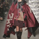 Vivienne Westwood Fall Winter 2013 fashiondailymag look 17