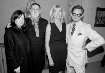 Elizabeth Watson, Albert Watson, Liz Peek, Hamish Bowles FIT | FashionDailyMag