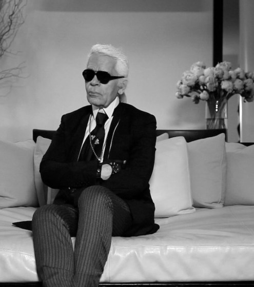 KARL LAGERFELD | SCATTER MY ASHES AT BERGDORF'S