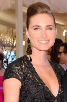 LAUREN BUSH at MET GALA clarins Ralph on FashionDailyMag