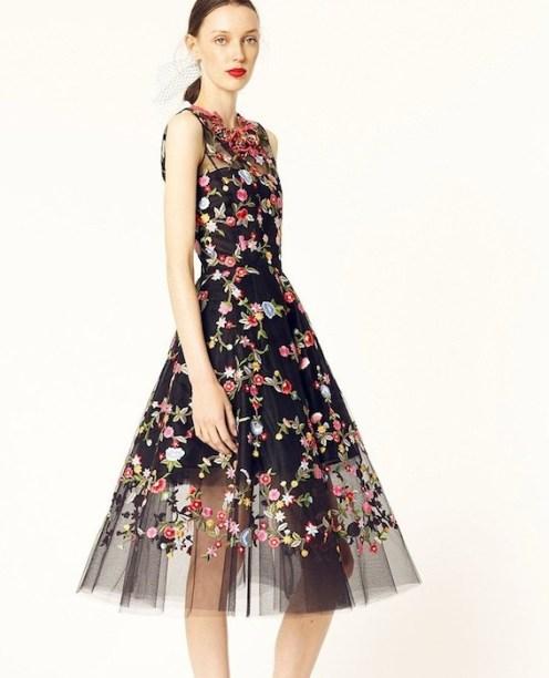 OSCAR DE LA RENT RESORT 2014 details   FashionDailyMag