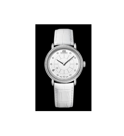 88 rue du rhone timepiece white watch
